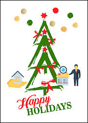 Appraisers Tree Holiday Card