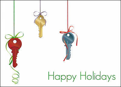 Realty Holiday Cards Personalized For Your Business