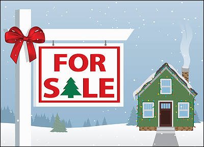 Realty Christmas Cards Personalized For Your Business